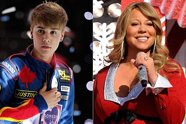 Justin Bieber + Mariah Carey, 'All I Want for Christmas Is You ...