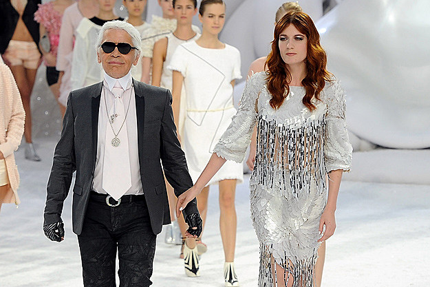 Karl Lagerfeld, Florence Welch