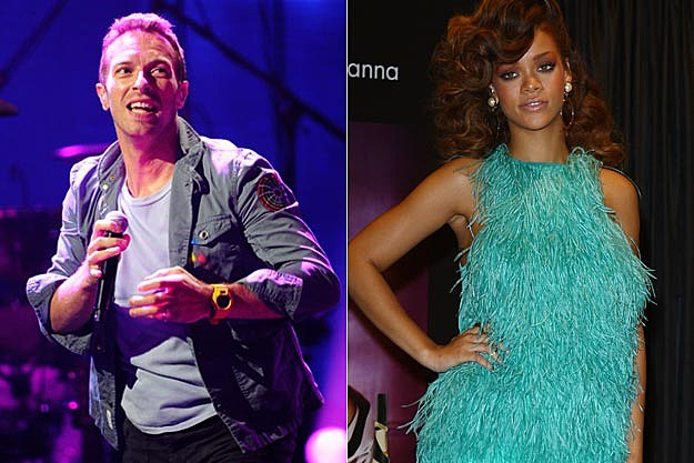 Coldplay Rihanna