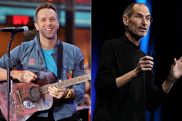 Coldplay Steve Jobs
