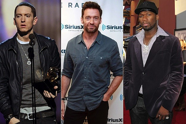 Eminem Hugh Jackman 50 Cent