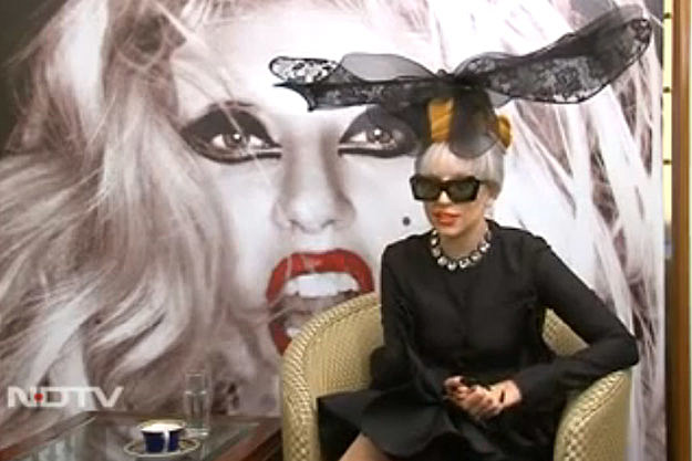 Lady Gaga NDTV