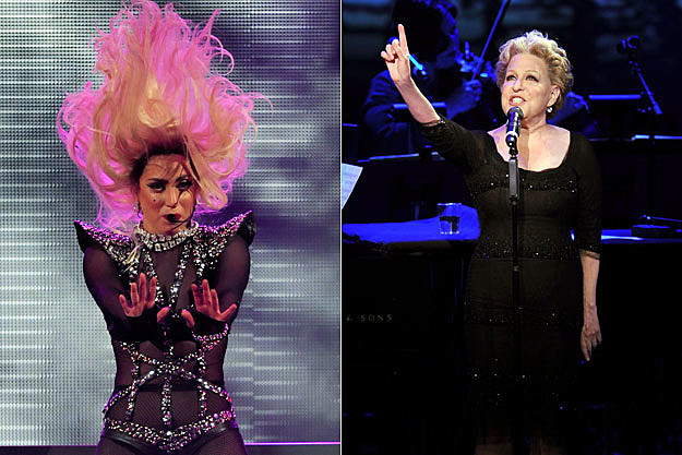 Bette midler encourages lady gaga to take her outfits popcrush
