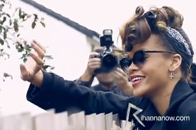 Rihanna Behind the Scenes We Found Love