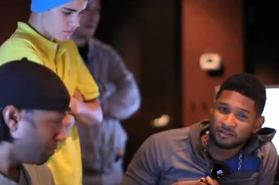 Justin Bieber and Usher Hit the Studio to Record \'The Christmas Song ...