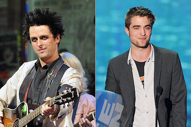 Billie Joe Armstrong and Robert Pattinson
