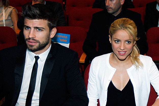 Pregnant Celebrities - Shakira and Gerard Pique Welcome Son with ...