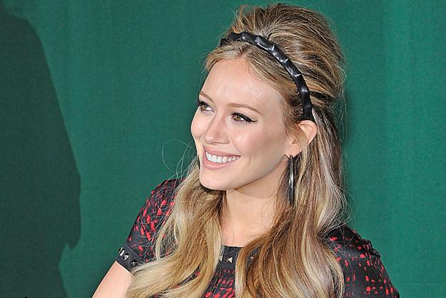 Hilary Duff Talks Baby Names