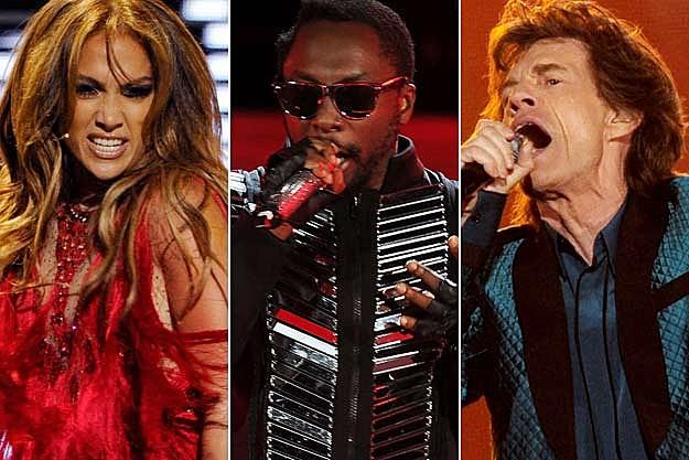 Jennifer Lopez will.i.am. Mick Jagger