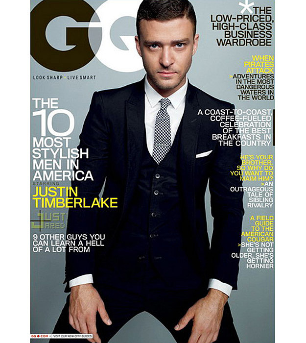 Justin Timberlake GQ Cover