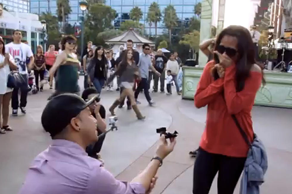 Bruno Mars Marry You Used For Sweet Flash Mob Proposal At Disney
