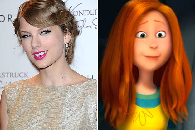Taylor Swift Ashley Lorax