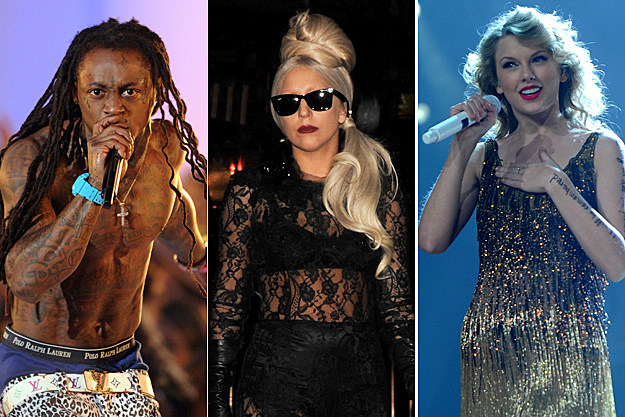 Lil Wayne / Lady Gaga / Taylor Swift