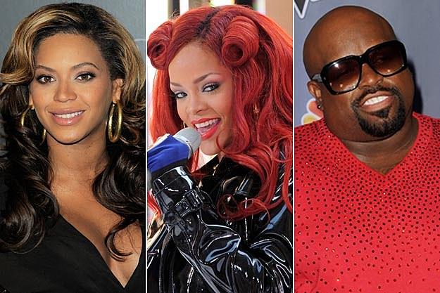 Beyonce Rihanna Cee Lo Green