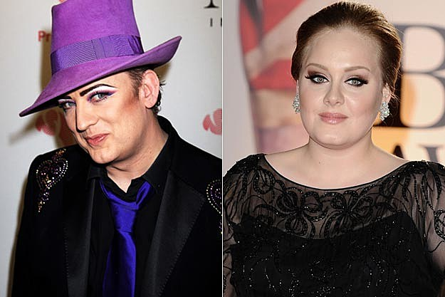 Boy George Adele