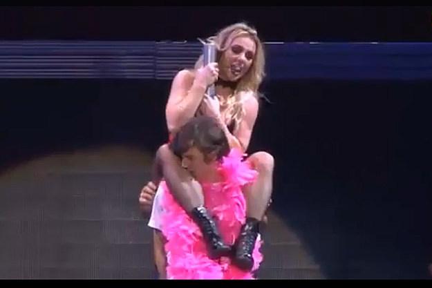 Britney Spears Lap Dance