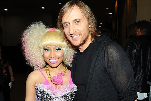 Nicki Minaj David Guetta