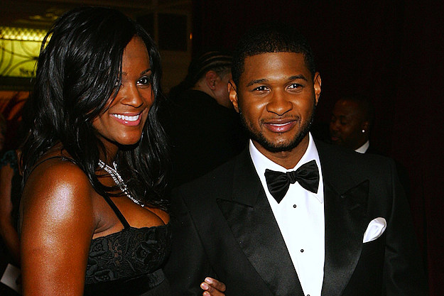 Tameka and Usher Raymond