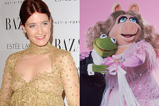 Florence Welch Kermit Miss Piggy