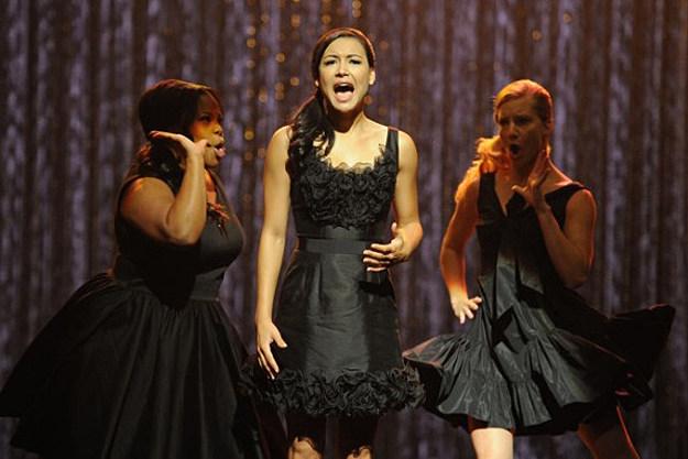 'Glee' 'Mash Off'