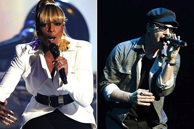 Mary J. Blige and Gavin DeGrraw