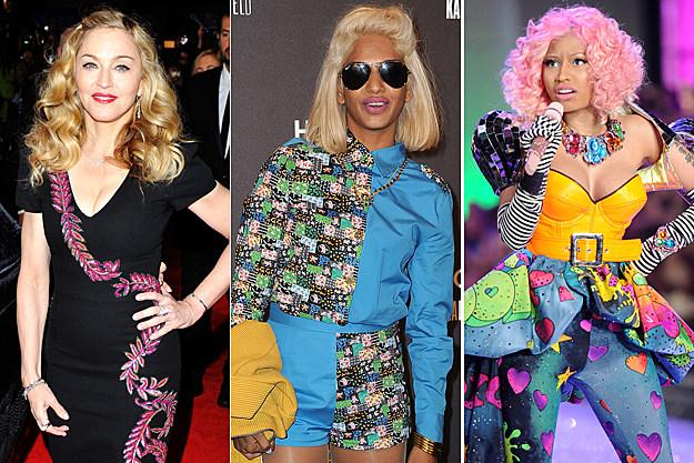 Madonna, M.I.A., Nicki Minaj