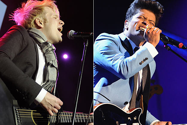 Patrick Stump Bruno Mars