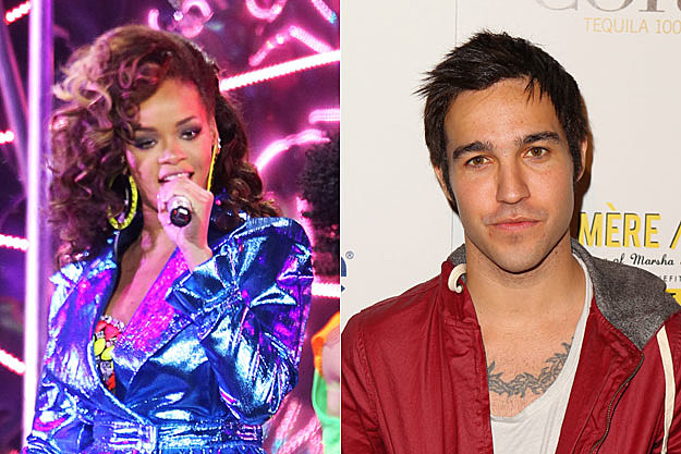 Rihanna and Pete Wentz