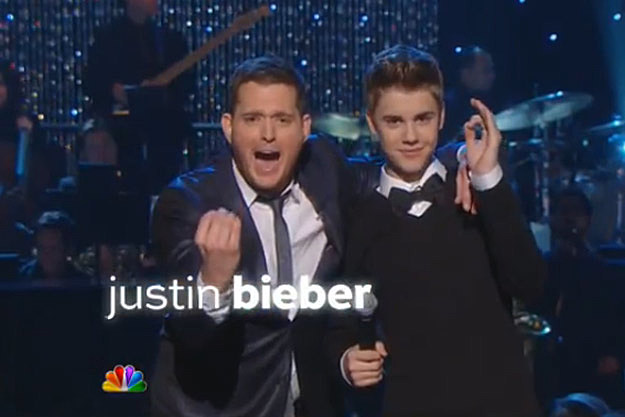 Justin Bieber Teams Up With Michael Buble for Christmas Special