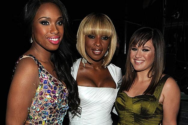 Jennifer Hudson, Mary J. Blige, Kelly Clarkson