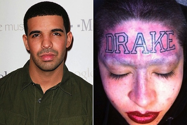 Drake Tattoo Girl