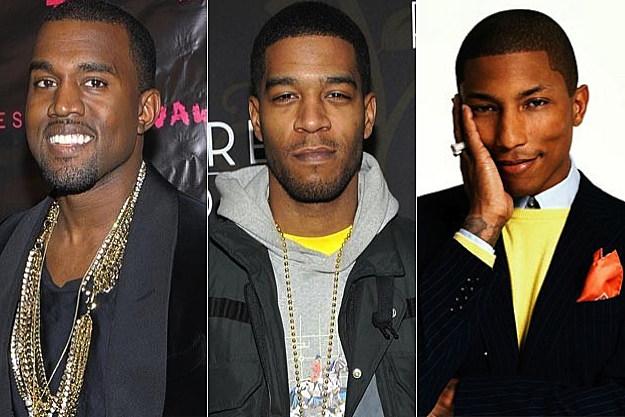 Kanye West Kid Cudi Pharrell Williams