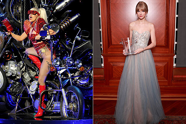 Lady Gaga and Taylor Swift