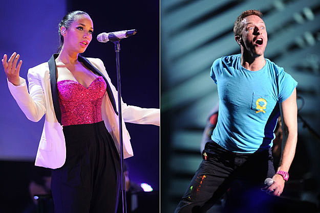 Leona Lewis and Chris Martin