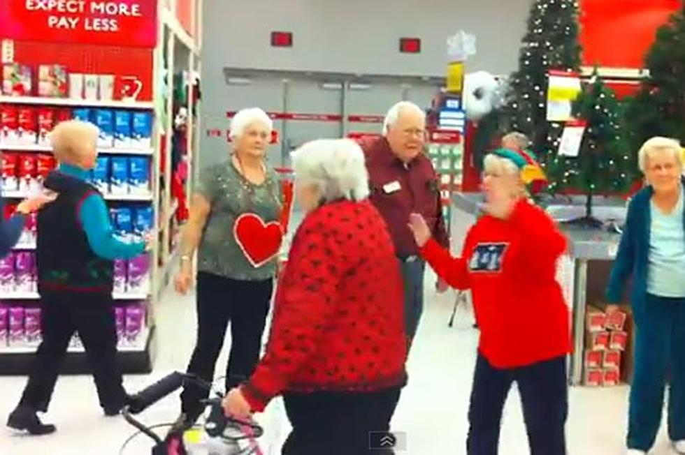 senior citizen flash mob to glee version of last christmas - Last Christmas Glee
