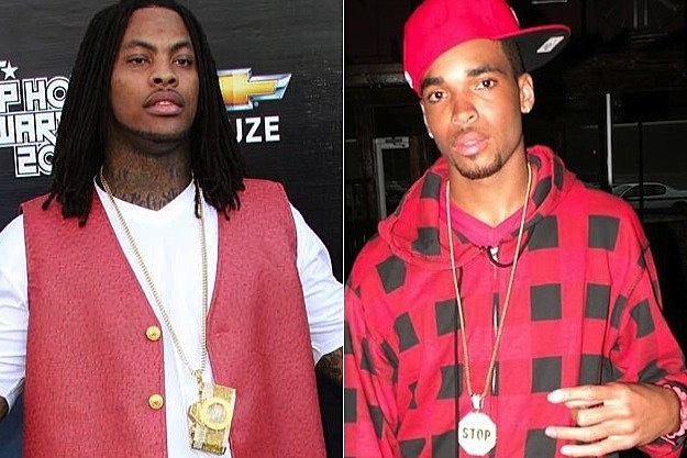 Waka Flocka Flame and  Slim Dunkin