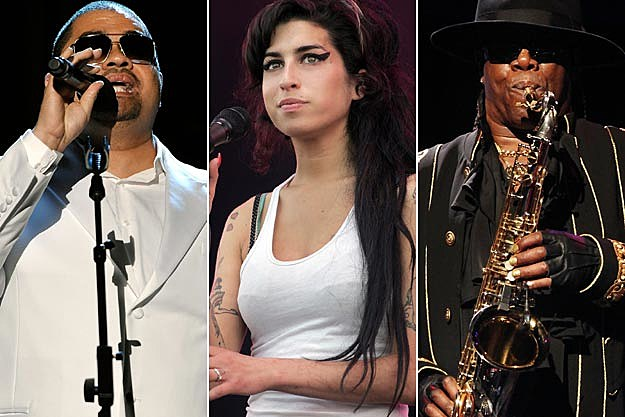 Heavy D Amy Winehouse Clarence Clemons