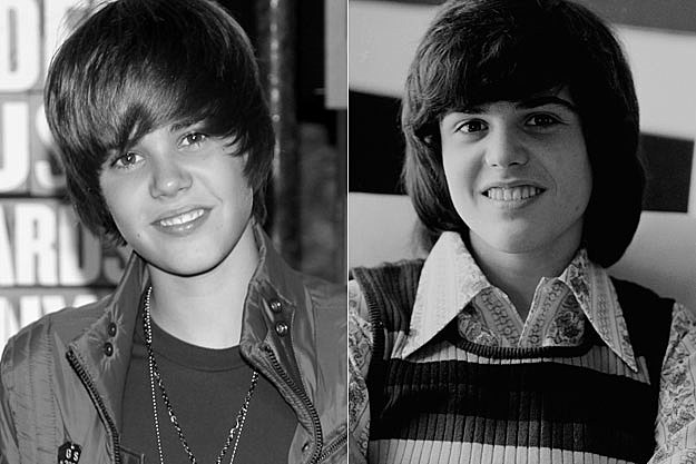 Justin Bieber Donny Osmond