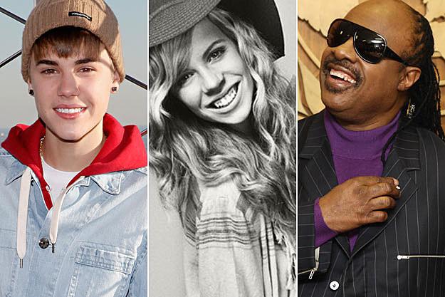 Justin Bieber Drew Stevie Wonder