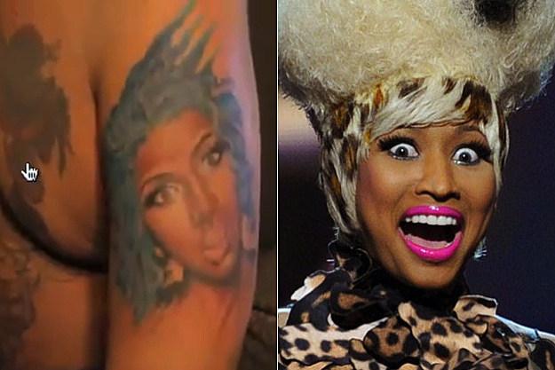 Bizarre Nicki Minaj