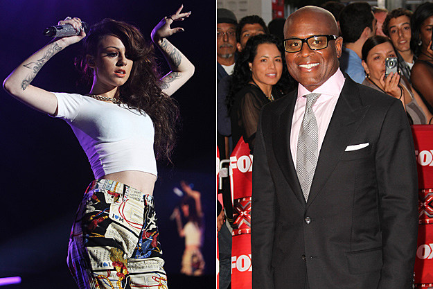 Cher Lloyd, L.A. Reid