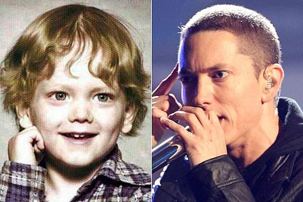 It S Eminem S Yearbook Photo Popcrush