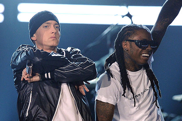 Eminem and Lil Wayne