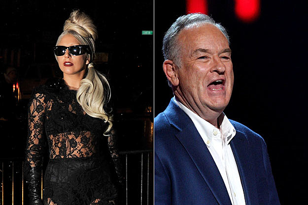 Lady Gaga and Bill O'Reilly