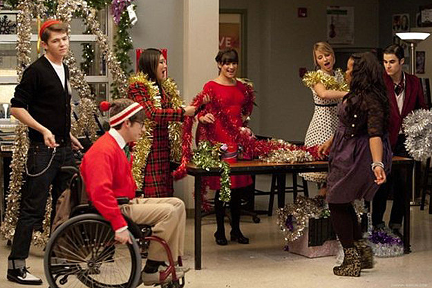 'Glee' 'Extraordinary Merry Christmas