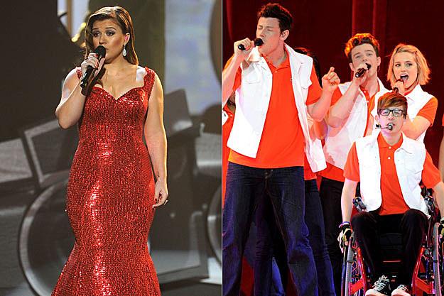 Kelly Clarkson Glee Cast