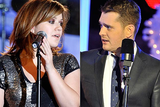 Kelly Clarkson Michael Buble