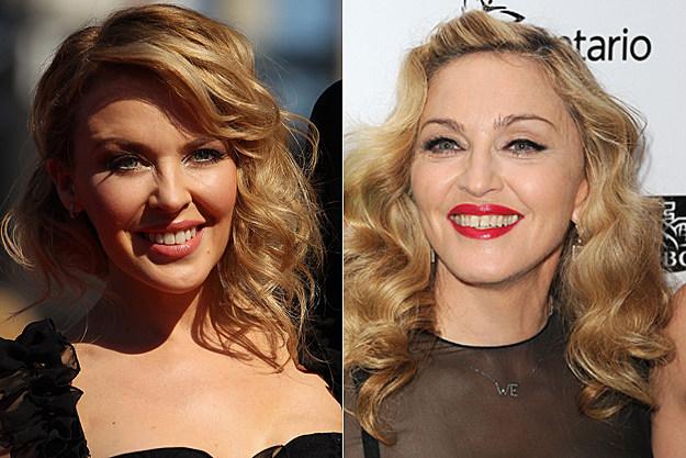 Kylie Minogue, Madonna