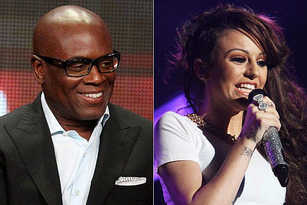 L.A. Reid and Cher Lloyd