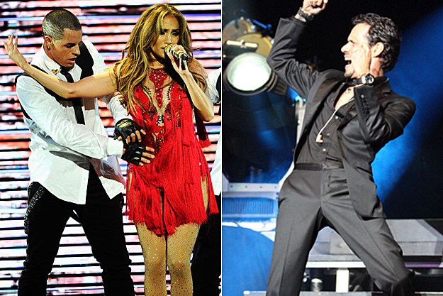 Casper Smart, Jennifer Lopez, Marc Anthony